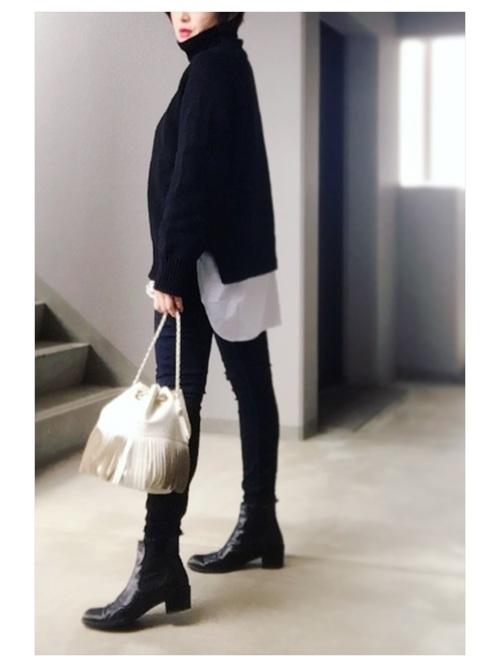 40代大人女子ファッション/パンツコーディネート14