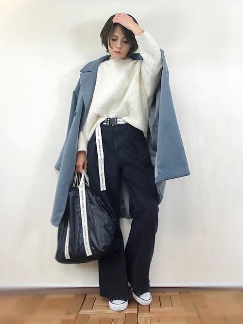 40代大人女子ファッション/パンツコーディネート5