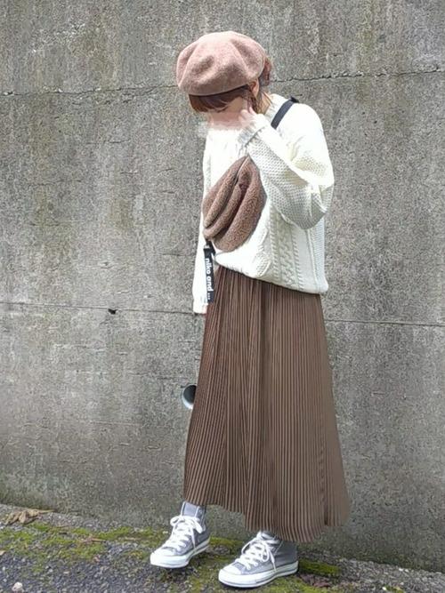 プチプラスカート×大人女子15