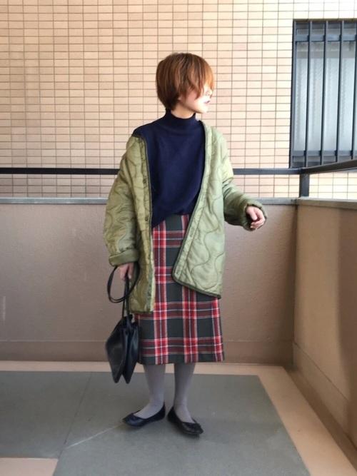 40代大人女子ファッション/スカートコーディネート18