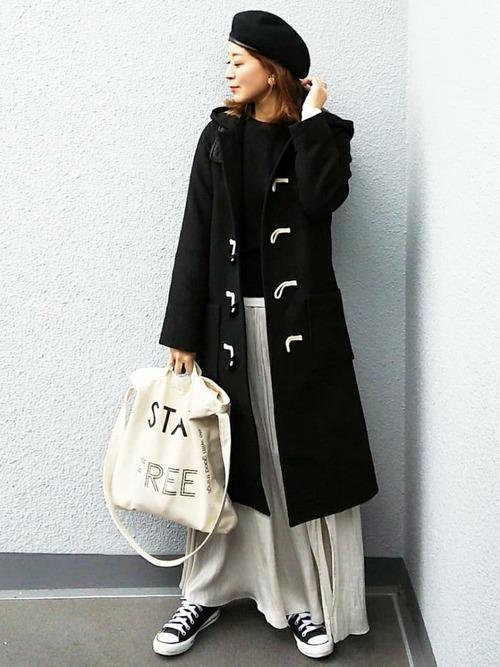 40代大人女子ファッション/スカートコーディネート2