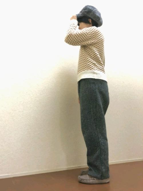 [Shop無] エコファーキャスケット