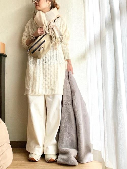 40代大人女子ファッション/パンツコーディネート24