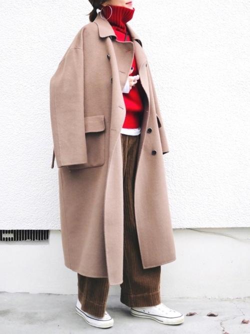 40代大人女子ファッション/パンツコーディネート6