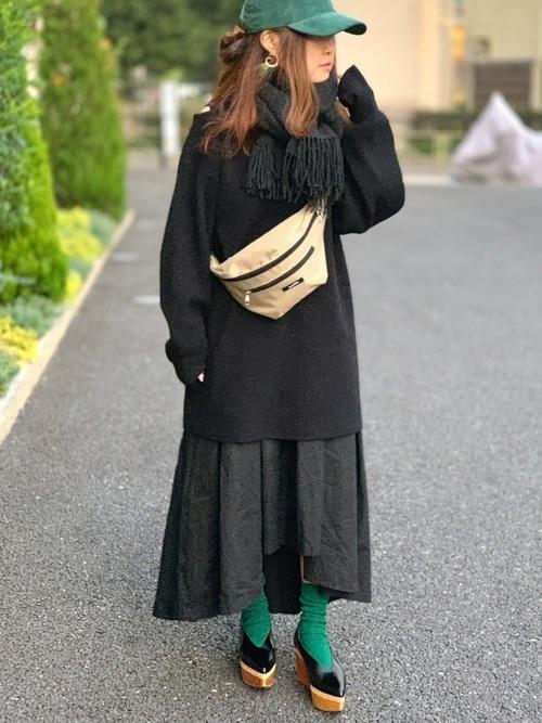 40代大人女子ファッション/スカートコーディネート13