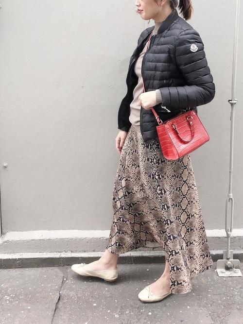 ZARAのスカート!アニマル柄を華麗に着こなそう♡4