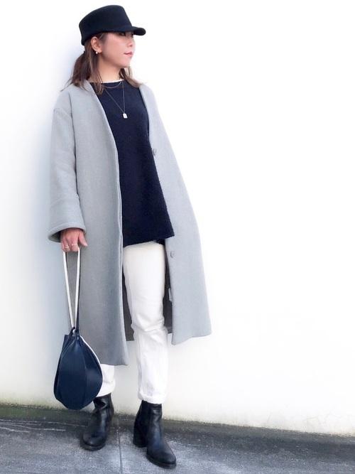40代大人女子ファッション/パンツコーディネート23