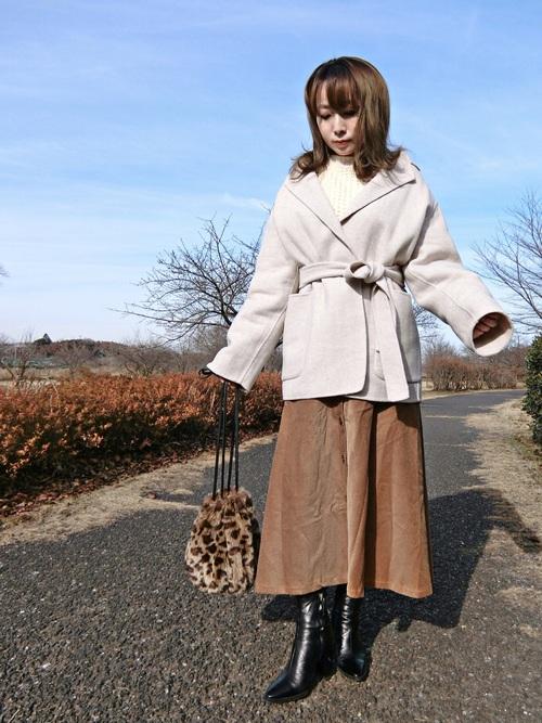 ZARAのスカート!フレアスカートを選んで可愛らしいコーデに♡2