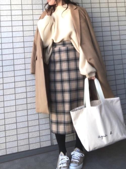 GUスカートコーデ集3