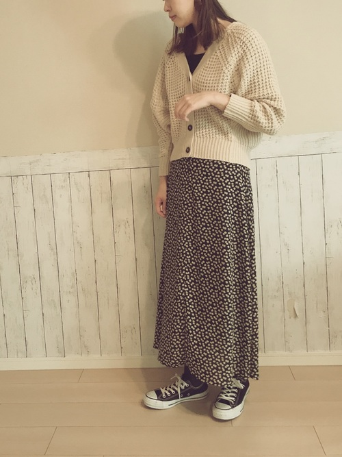 しまむらのベージュ系アイテム×大人女子5