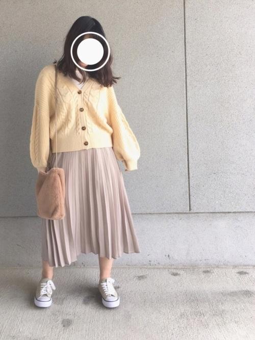 プチプラプリーツスカート GU2