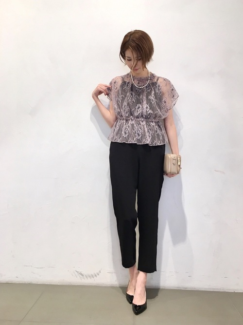 [URBAN RESEARCH ROSSO WOMEN] kaene レース×キャミ ALL IN ONE