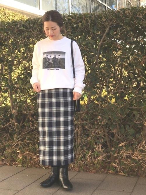 プチプラスカート×大人女子7