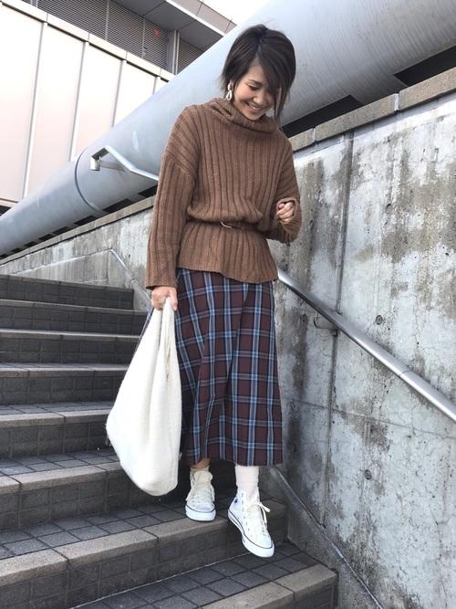 プチプラスカート×大人女子5