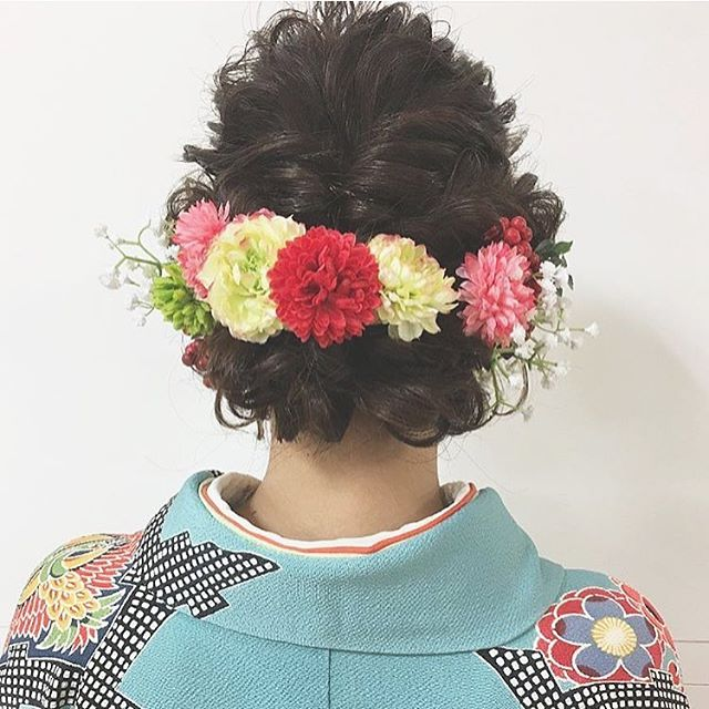 春の結婚式のお呼ばれヘアアレンジ13