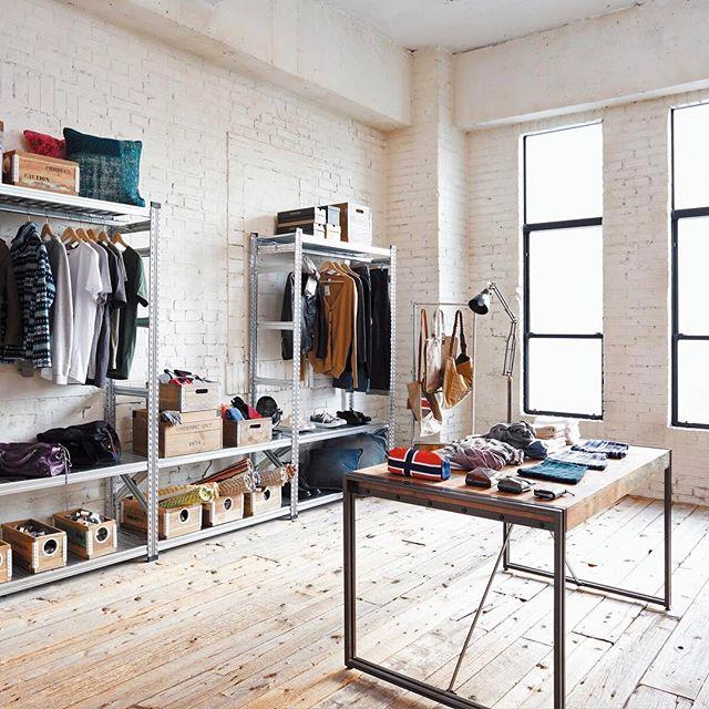 お部屋を広く見せるコツ③家具の奥行きを統一させる