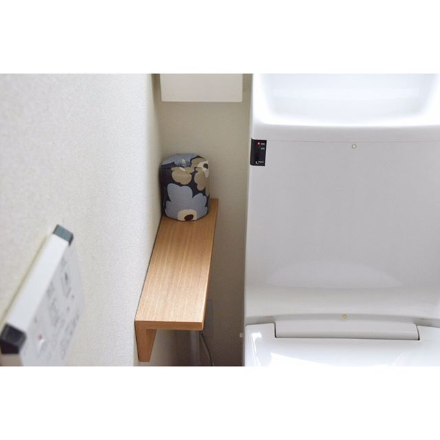 無印の壁に付けられる家具は収納に便利!7