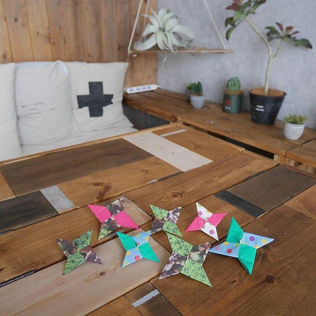 折り紙 インテリア11