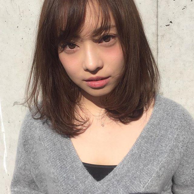ミディアム 手軽 アレンジ5