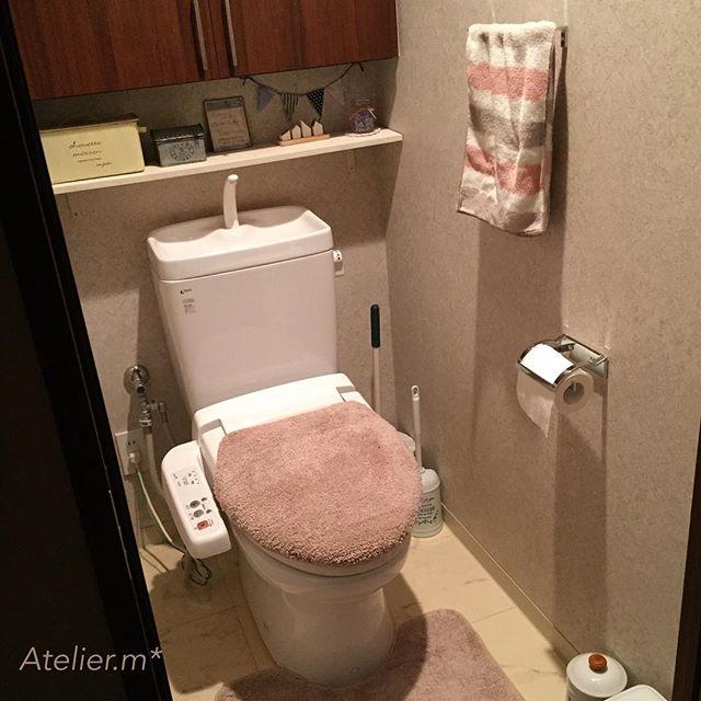 トイレ ナチュラルテイスト&ガーリーテイスト