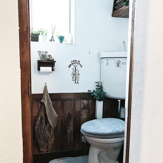 トイレ収納 既製品を使って簡単に