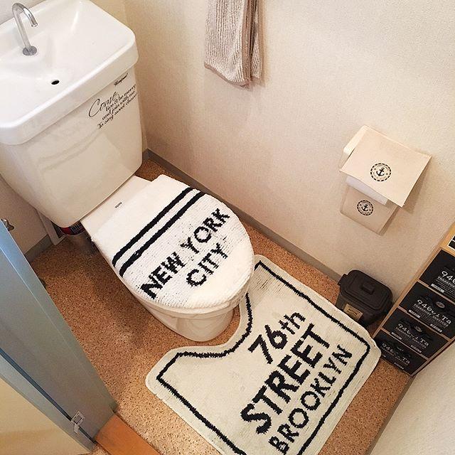 ブルックリンインテリアのトイレ4