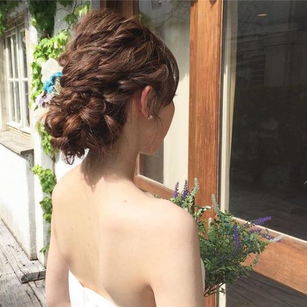 花嫁シニヨン2