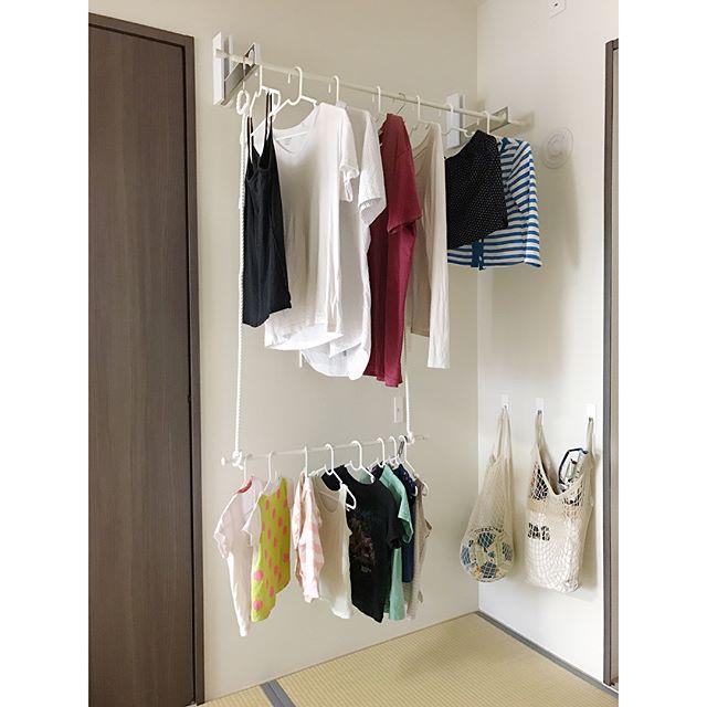 フック収納アイデア 洗濯スペース