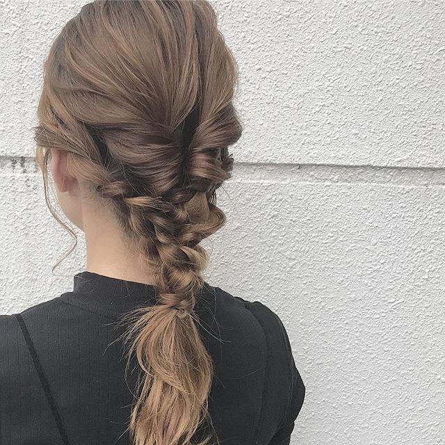 まとめ髪5