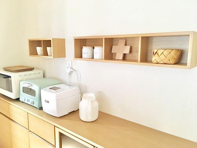 無印良品の「壁に付けられる家具 箱」