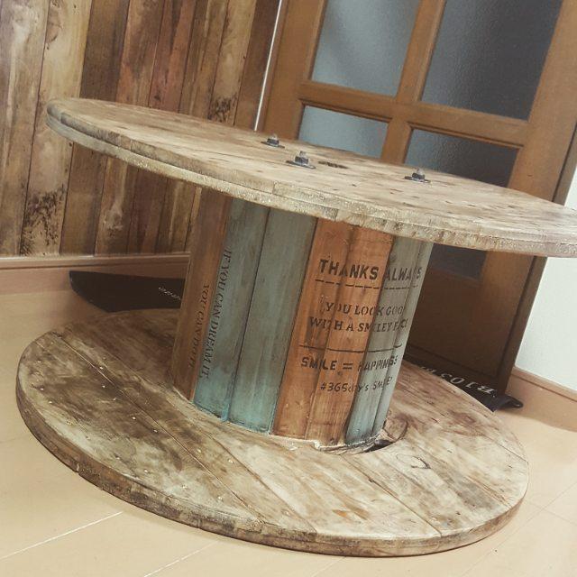 机DIY テーブル3