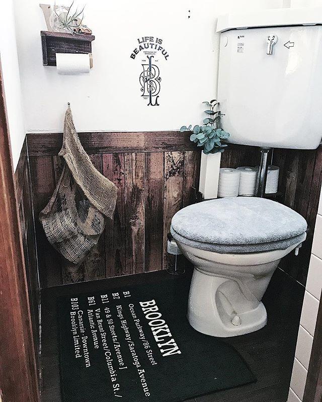 ブルックリンインテリアのトイレ8