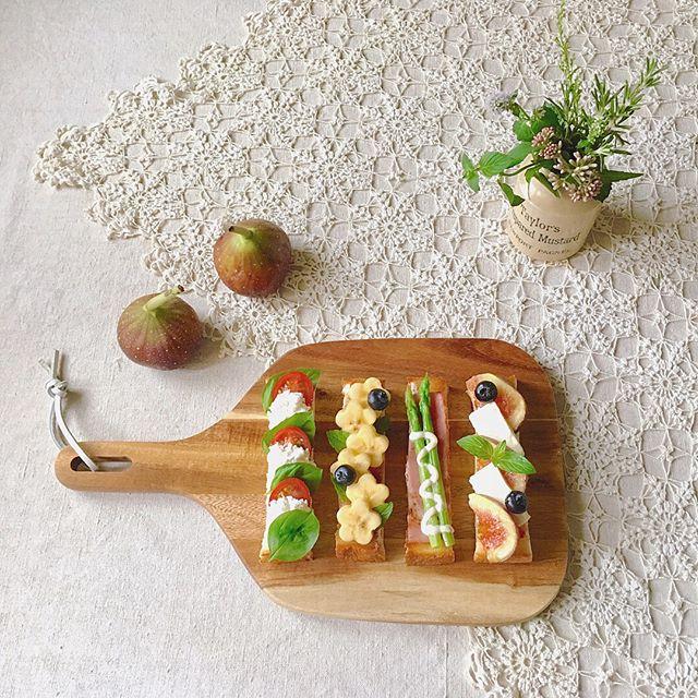 木製カッティングボード テーブルコーディネート7