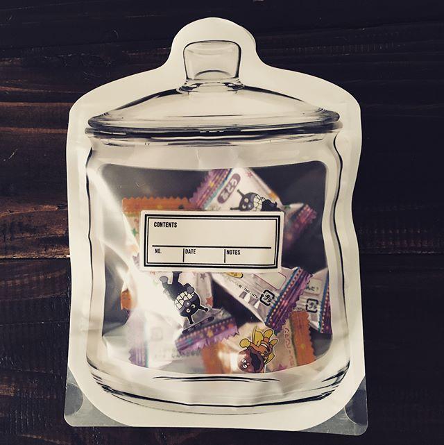 ジッパーバッグ お菓子収納