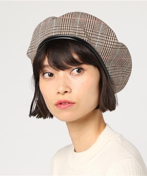 [WEGO] WEGO/クラシックチェックベレー帽