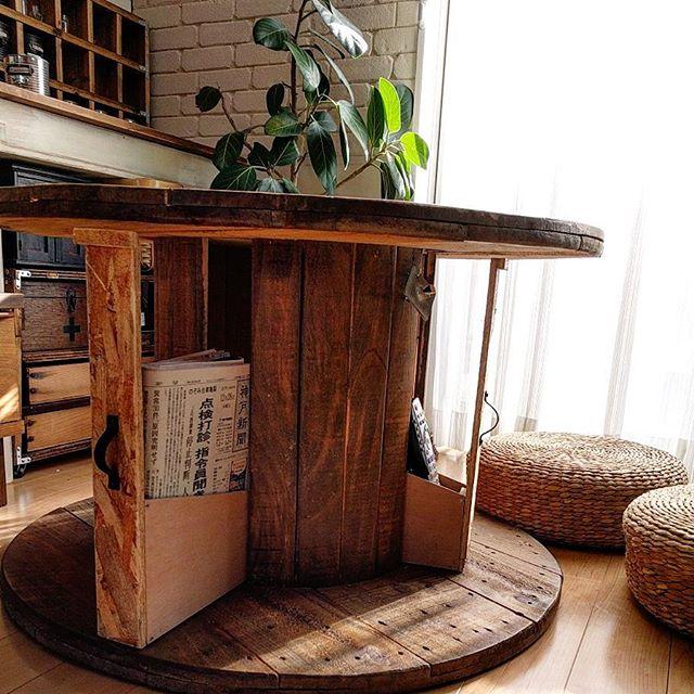 机DIY テーブル4
