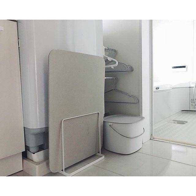 洗濯機周りの収納8
