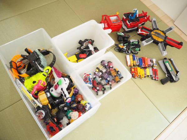 IKEAのアイテムを使用したおもちゃ収納32