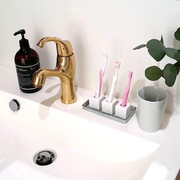 歯ブラシ収納 100均12