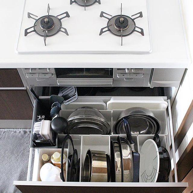 キッチンインテリア 収納