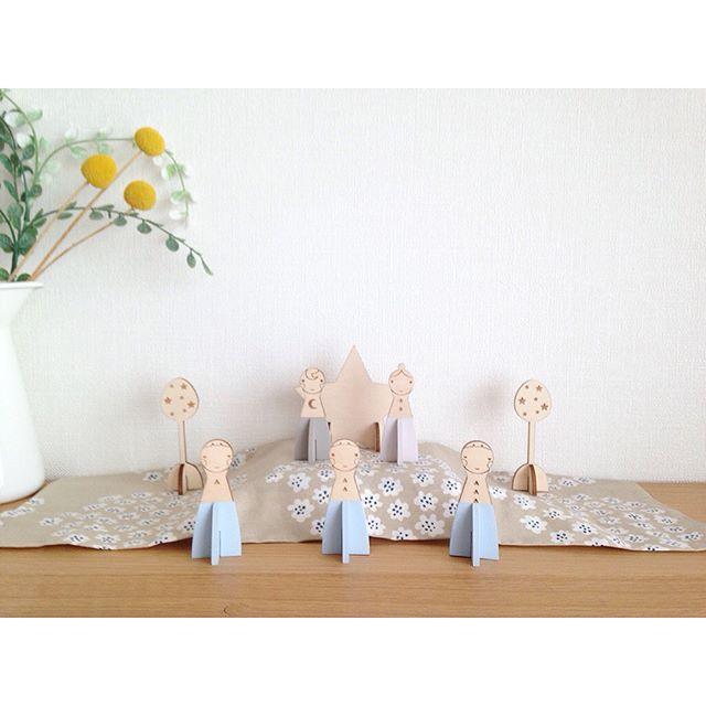 木製の雛人形5