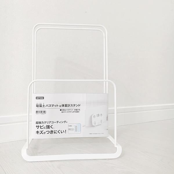 ニトリ・セリア・キャンドゥのアイテムで洗面所をすっきりと収納10