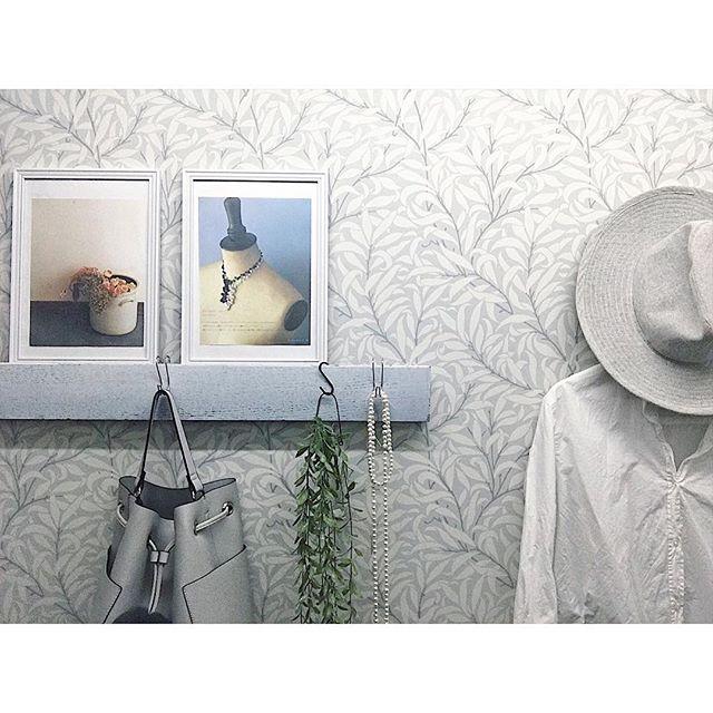 帽子を空間のワンポイントとして飾る