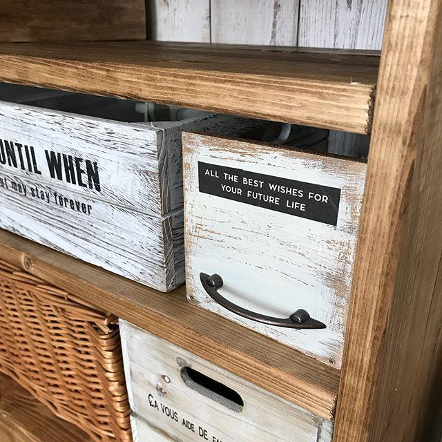 コード収納 DIY 木材
