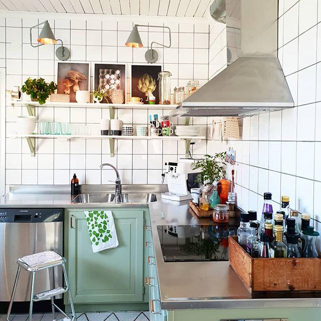 キッチン 飾り棚