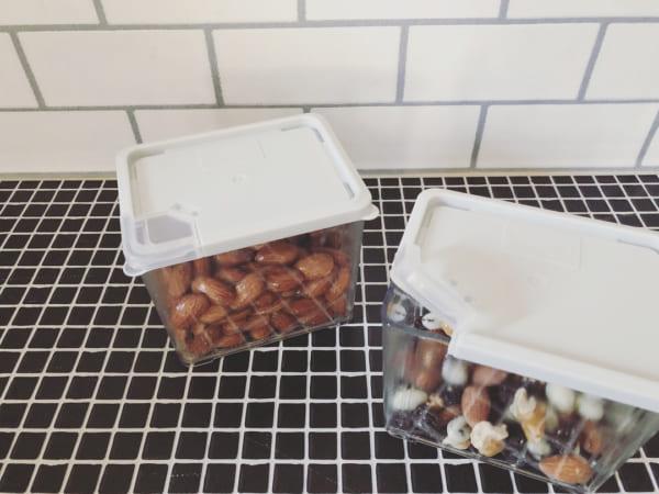100均のアイテムを使ったお菓子収納7