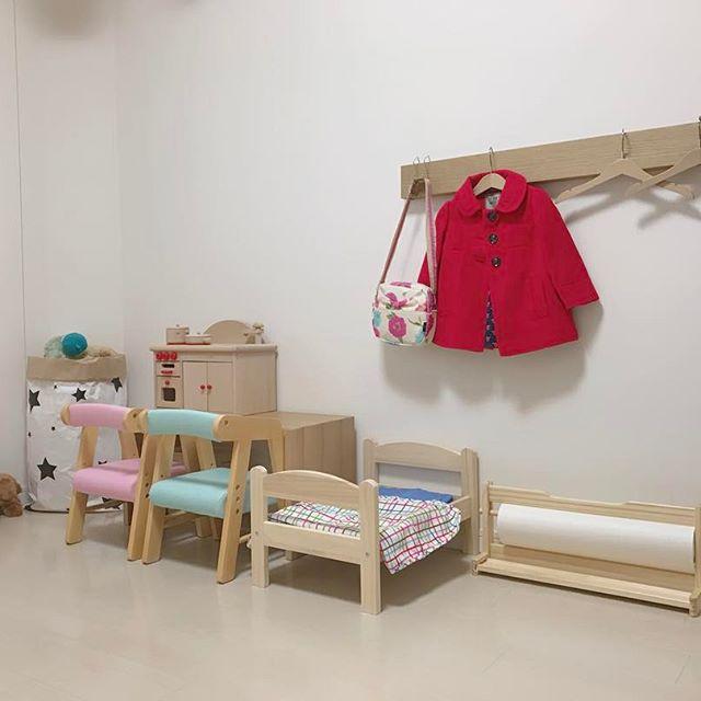 無印の壁に付けられる家具は収納に便利!12