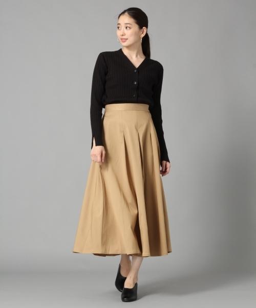 [LEPSIM] ★店舗限定アイテム★タックフレアロングスカート 801494