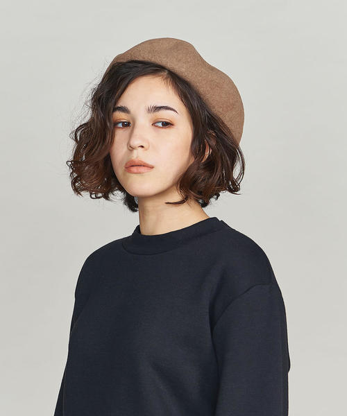 [BEAUTY&YOUTH UNITED ARROWS] BY シンプルフラットベレー帽