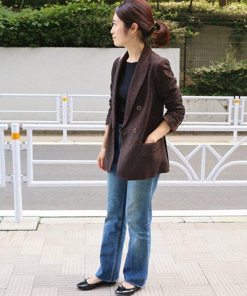 モールダブル ブレストジャケット